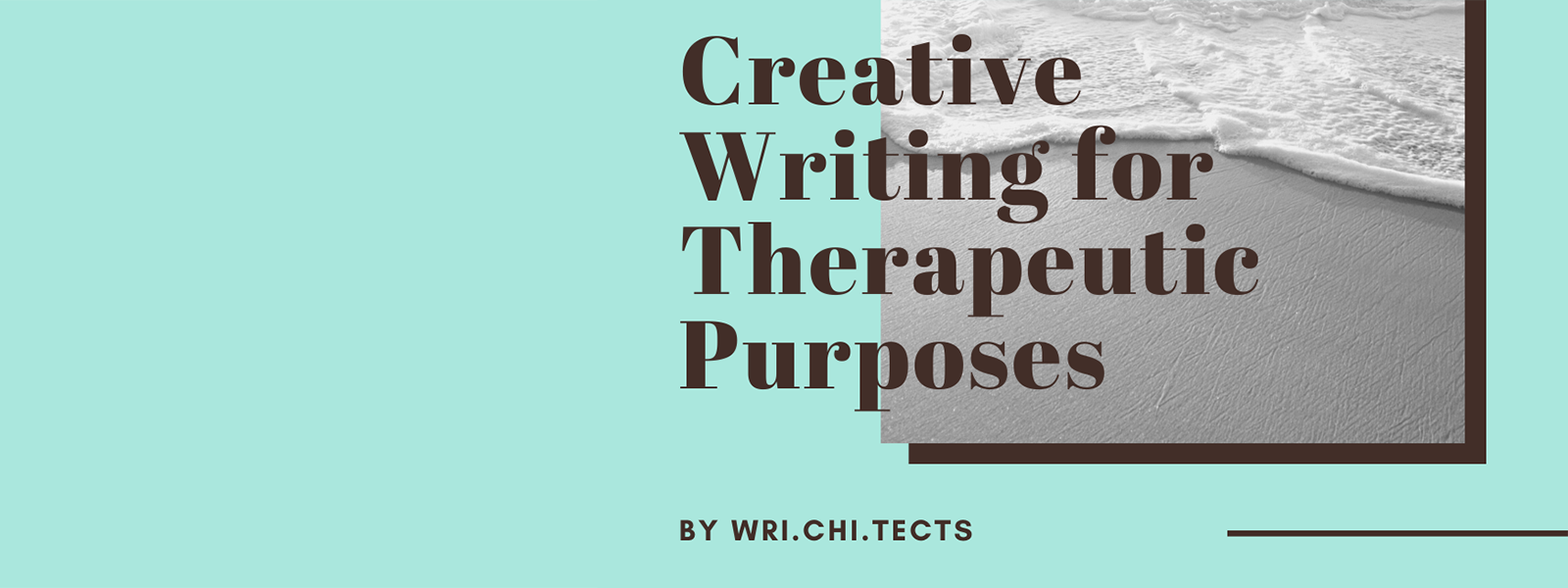 Workshop: Online - Creative Writing for Therapeutic Purposes